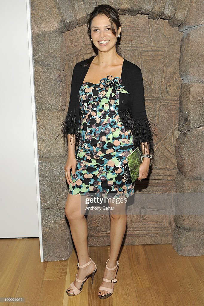 Yelitza Hurley attends the opening the Vilcek Foundation's exhibition of