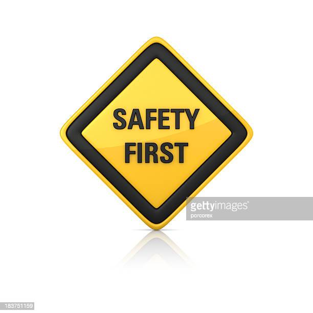 Warnschild-Sicherheit
