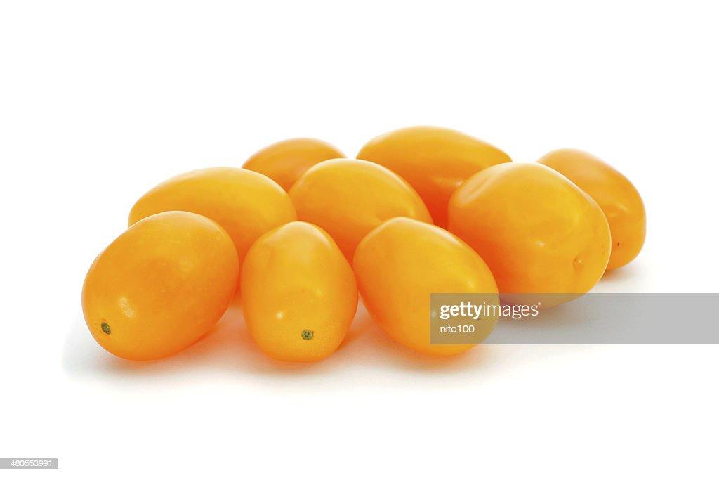 Amarelo maduros de ameixa : Foto de stock
