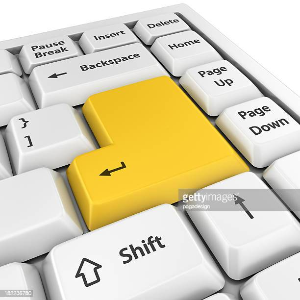 """Gelb leer Geben Sie """""""