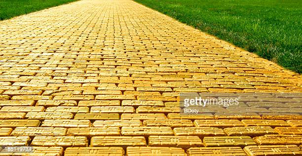 Gelbe Brick Road-Wide