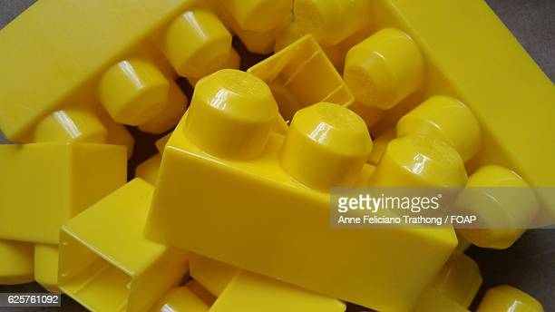 Yellow building blocks