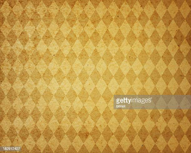 yellow diamond pattern paper