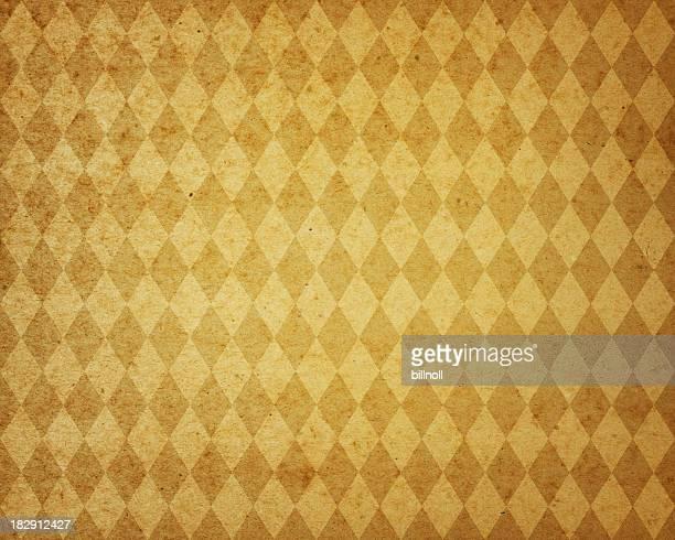 yellow diamond pattern paper