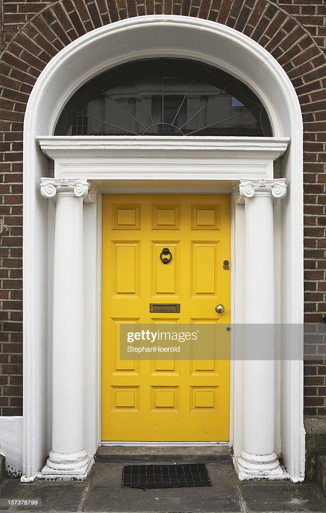 Yellow Door : Stock Photo