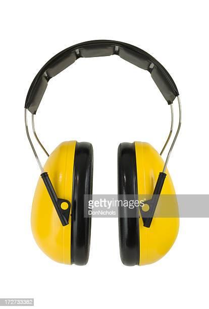 Gelbe und Ohrenwärmer