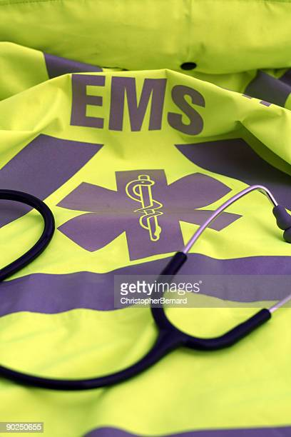 Yellow EMS Coat