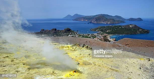 Yellow Fumaroles Panorama