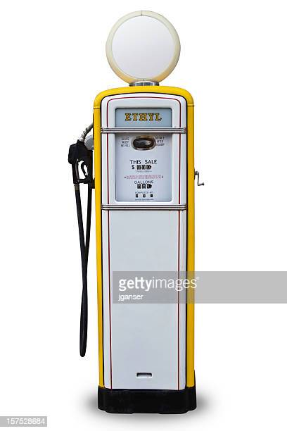 Yellow Gas Pump