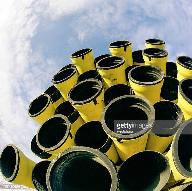 Yellow Jacketed Pipe
