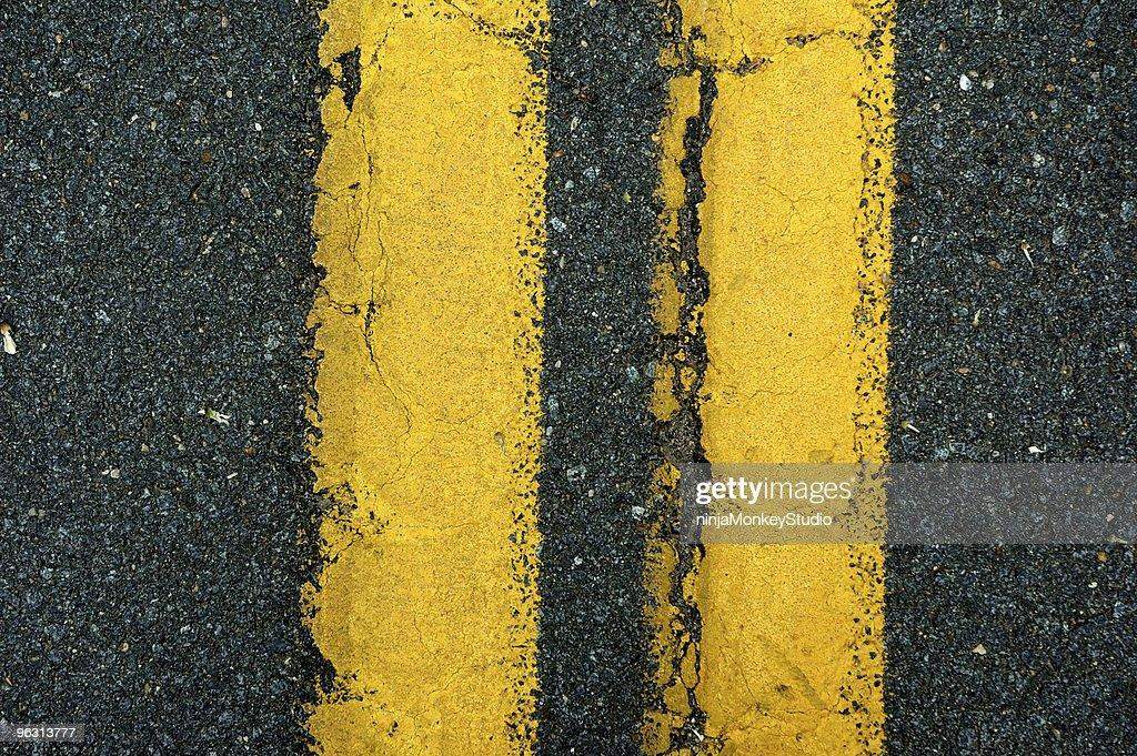 Yellow Lane Divider