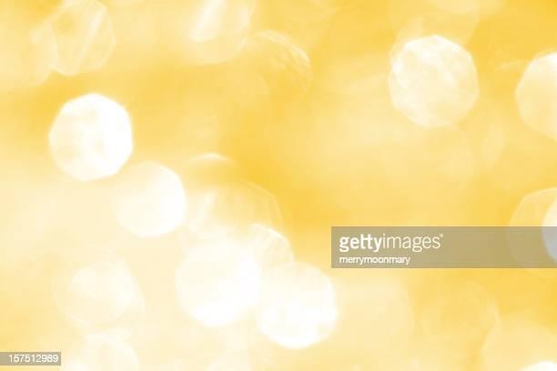 Gelbe Licht funkelt