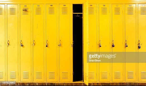 Armários amarelo