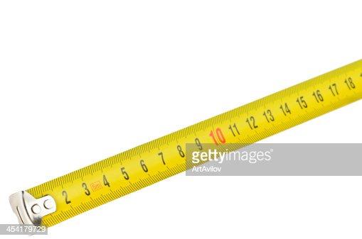 Yellow meter : Stock Photo