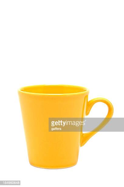 Gelbe Tasse (clipping path