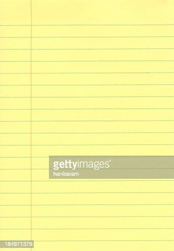 Yellow Notepad