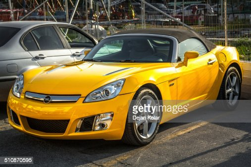 Amarillo Opel GT