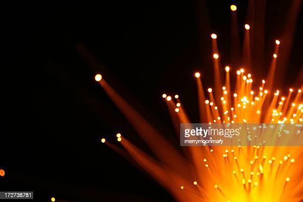 Yellow Orange Light Burst