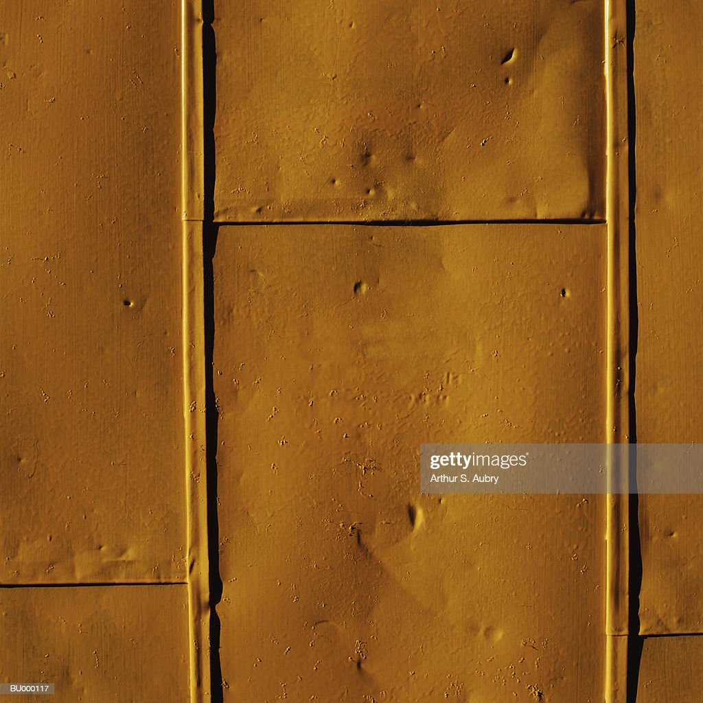 Yellow Painted Metal