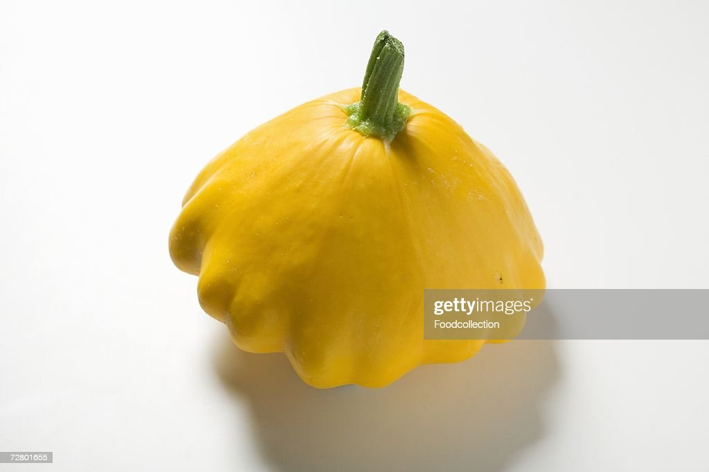 Yellow patty pan squash