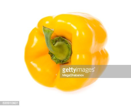 Pimenta amarelo : Foto de stock