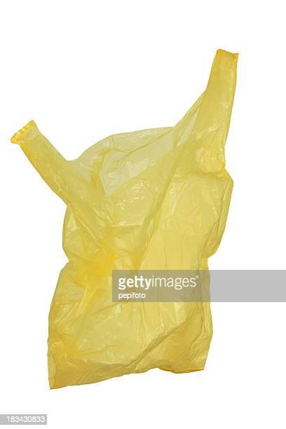 Bolsa de plástico amarillo