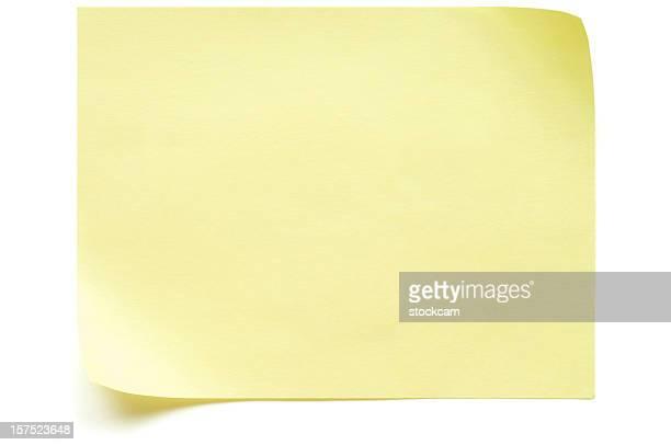 Post-it giallo