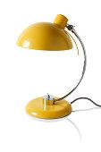 Yellow reading / desk lamp