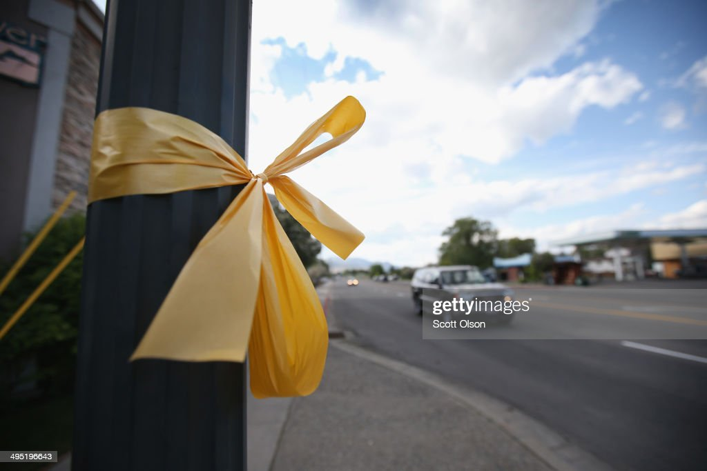 Yellow ribbons line Main Street as the hometown of Sgt. Bowe Bergdahl awaits his homecoming on June 1, 2014 in Hailey, Idaho. Sgt. Bergdahl was captured in Afghanistan in 2009 while serving with U.S. Armys 501st Parachute Infantry Regiment in Paktika Province. Yesterday he was released after a swap for 5 prisoners being held at Guantanamo Bay was arranged. Bergdahl was considered the only U.S. prisoner of war held in Afghanistan.