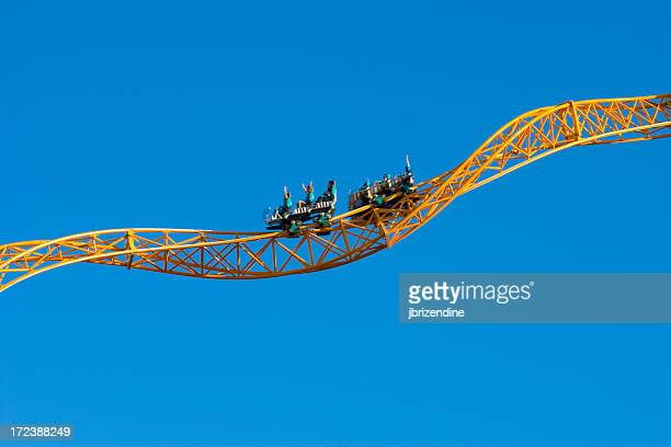 Yellow Rollercoaster 2