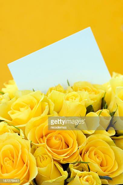 Yellow Roses Invitation
