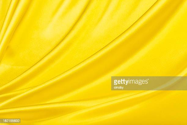 Yellow Satin Background