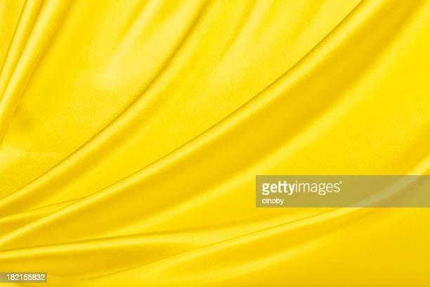 黄色サテンの背景