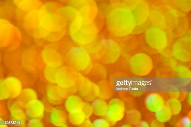 Yellow sea of lights