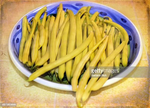 Yellow snap beans
