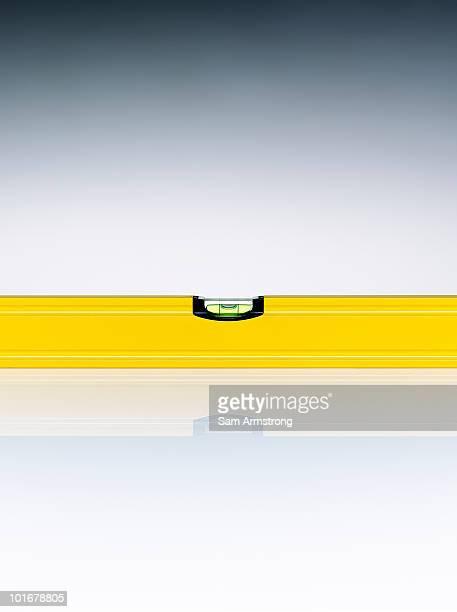 Yellow spirit level