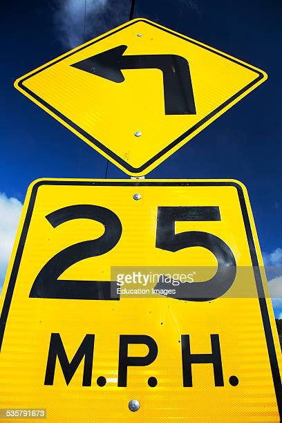 Speed Limit Sign Stock Photos And Pictures Getty Images