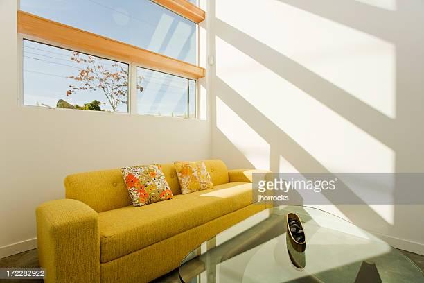 Yellow Sunlit Sofa