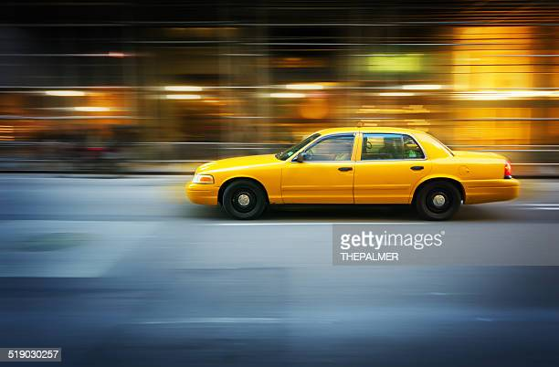 Yellow taxi Beschleunigung in New York City