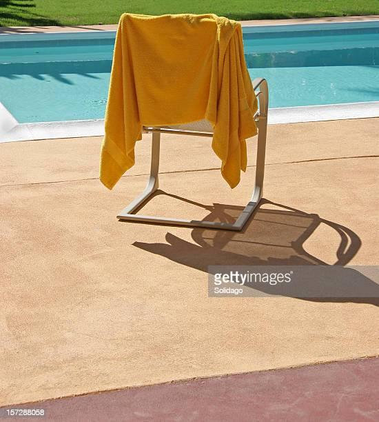 Yellow Towel Poolside