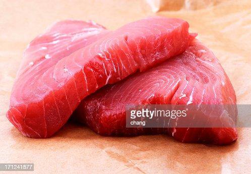 yellow tuna steak