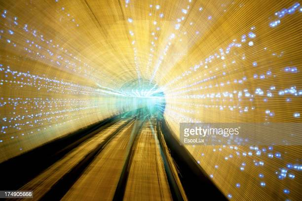 Gelbe Tunnel