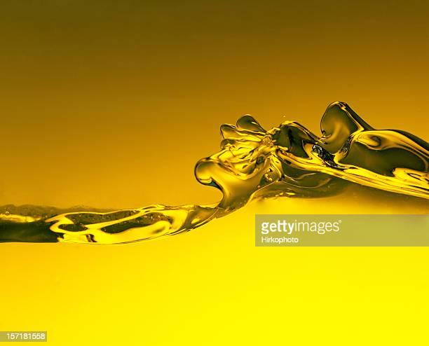 Jaune eau splash