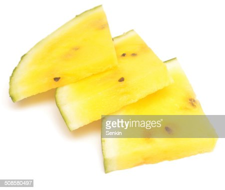yellow watermelon : Bildbanksbilder