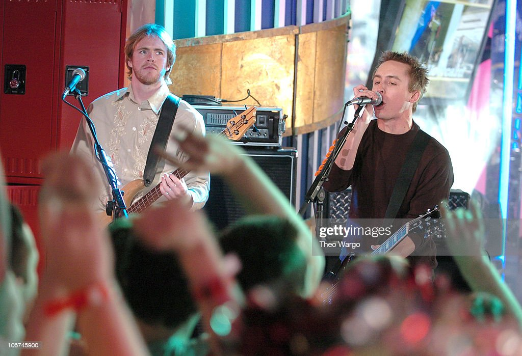 <a gi-track='captionPersonalityLinkClicked' href=/galleries/search?phrase=Yellowcard&family=editorial&specificpeople=549206 ng-click='$event.stopPropagation()'>Yellowcard</a> during Solange Knowles, Bow Wow and Yellow Card Visit MTV's 'TRL' High School Week - April 7, 2004 at MTV Studios, Times Square in New York City, New York, United States.