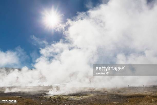 USA, Yellowstone National Park, Biscuit Basin