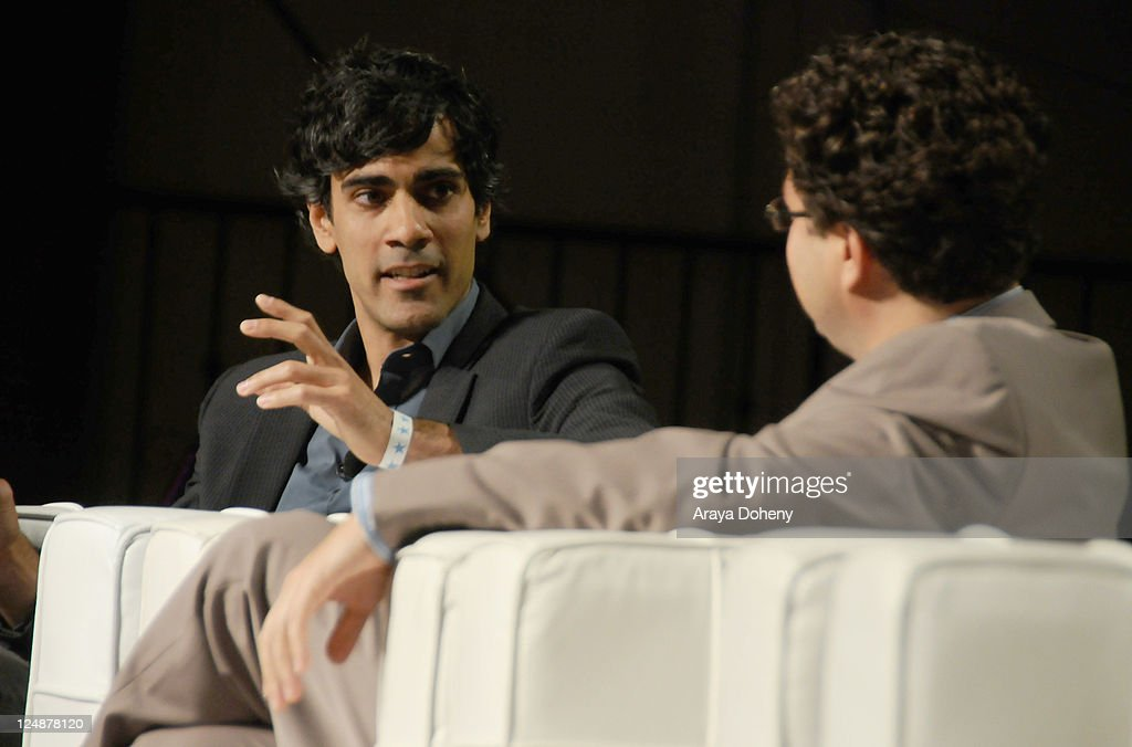 Yelp CEO and Co-Founder Jeremy Stoppleman (L) and TechCrunch Co-Editor Erick Schonfeld speak onstage at Day 2 of TechCrunch Disrupt SF 2011 held at the San Francisco Design Center Concourse on September 13, 2011 in San Francisco, California.
