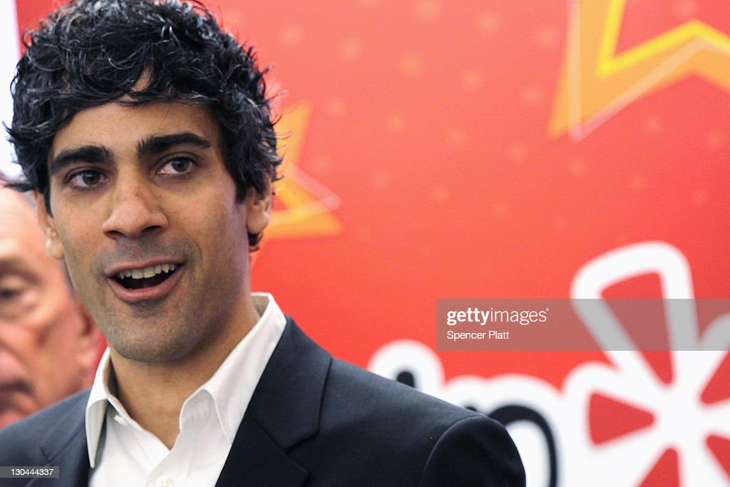 Yelp CEO <a gi-track='captionPersonalityLinkClicked' href=/galleries/search?phrase=Jeremy+Stoppelman&family=editorial&specificpeople=6626023 ng-click='$event.stopPropagation()'>Jeremy Stoppelman</a> speaks on October 26, 2011 in New York City. The Bloomberg administration has been heralding and working to facilitate the tech sector in New York City in hopes of making New York City a rival to Silicon Valley for start-up companies.