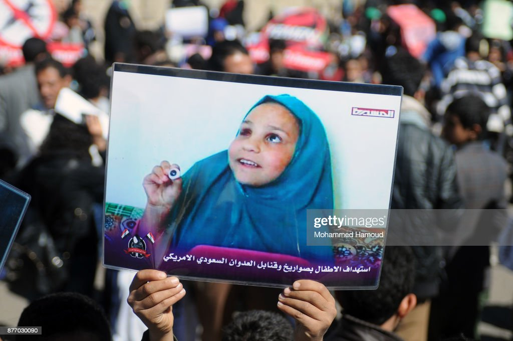 Rally Is Held In Sana'a On World Children's Day