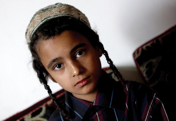 TO GO WITH AFP STORY BY <b>MOHAMED HASNI</b> Ye - yemeni-jewish-boy-jamil-sits-in-an-apartment-in-sanaa-on-november-10-picture-id93009386?k=6&m=93009386&s=594x594&w=0&h=CEIaqYwtGMi1tpDowSlWWtE0fh423290EP0Bk1-sSLA=